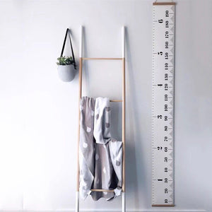 Simplistic Ruler Wall Hanging - Addy's Attic