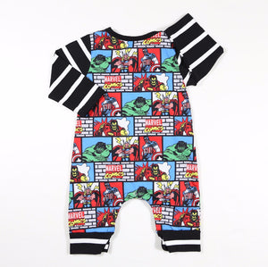 Comic Crazy Romper - Addy's Attic