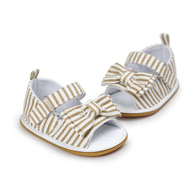 Big Bow Sandals - Addy's Attic