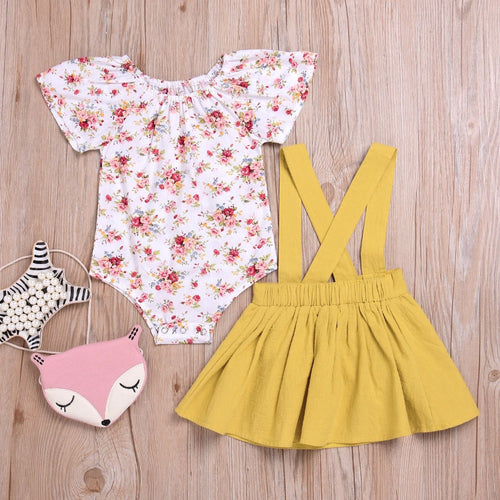 Sweet Suspender Skirt Set - Addy's Attic
