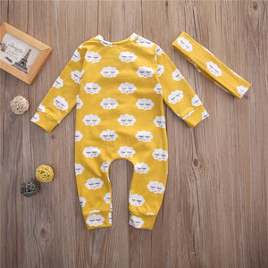 Sleepy Sky Jumpsuit - Addy's Attic
