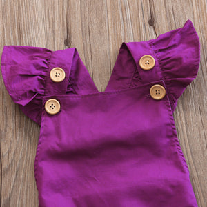 Magic Magenta Romper - Addy's Attic