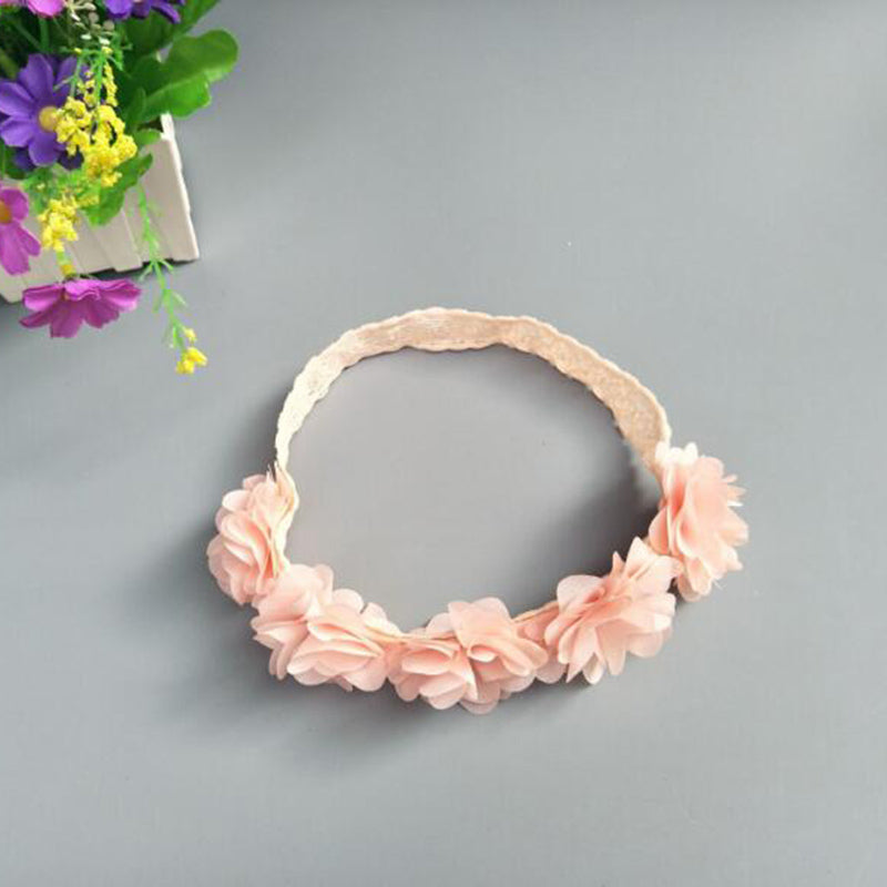 Vintage Floral Lace Headband - Addy's Attic