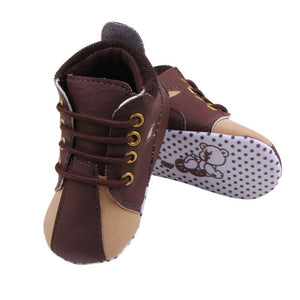Lace-Up First Walker Shoes - Addy's Attic