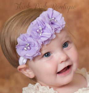 Bright Floral Headband - Addy's Attic