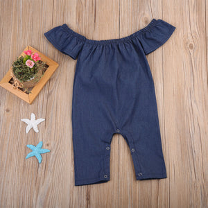 Hello 70's Denim Jumpsuit - Addy's Attic
