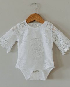 Lovely Lace Onesie - Addy's Attic