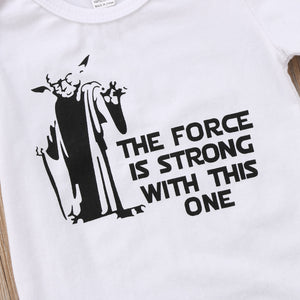 Yoda Force Onesie - Addy's Attic