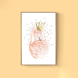 Pink Canvas Watercolor Prints - Addy's Attic