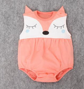 Sleepy Fox Romper - Addy's Attic
