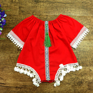 Boho Breeze Romper - Addy's Attic