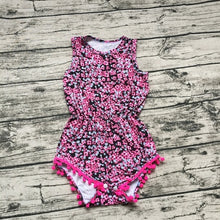 Picture Perfect Pom Pom Romper - Addy's Attic