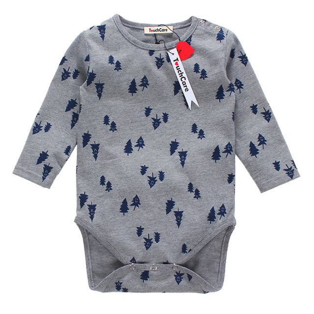 Pine Tree Printed Onesie - Addy's Attic
