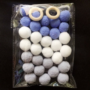 30 piece Handmade Hanging Wool Felt Ornaments - Addy's Attic