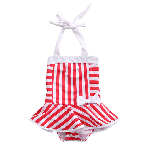 Sally's Striped Swimsuit - Addy's Attic