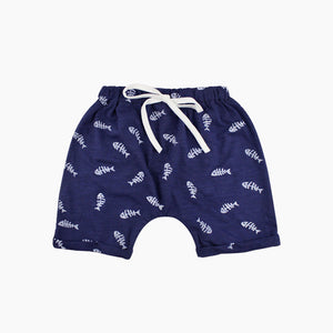 Fishy Boat Shorts - Addy's Attic
