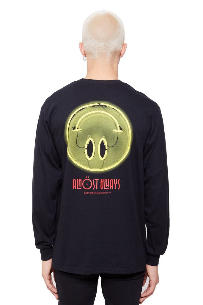 Fake Smiles Long Sleeve Tee