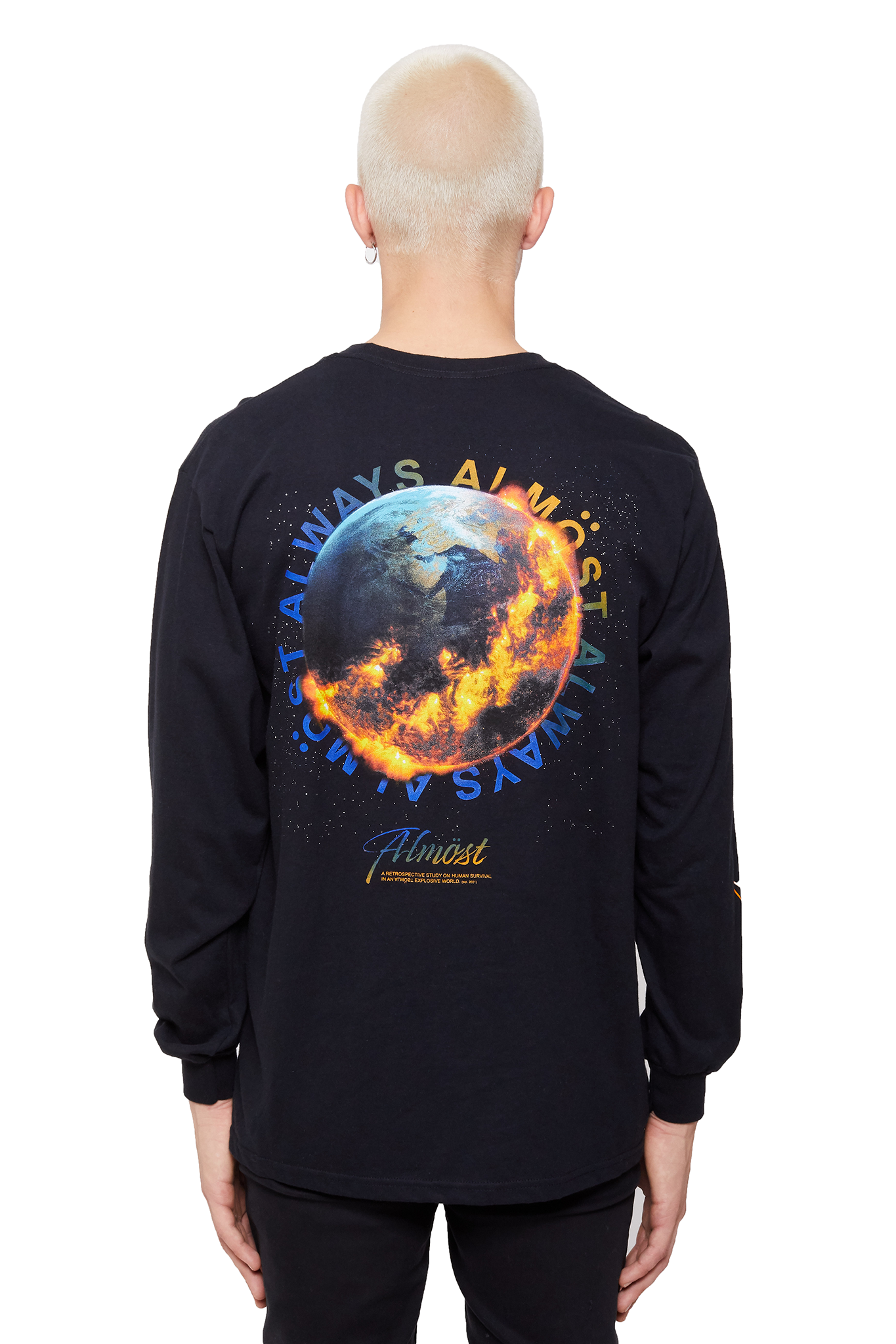 World Over Tee - LS