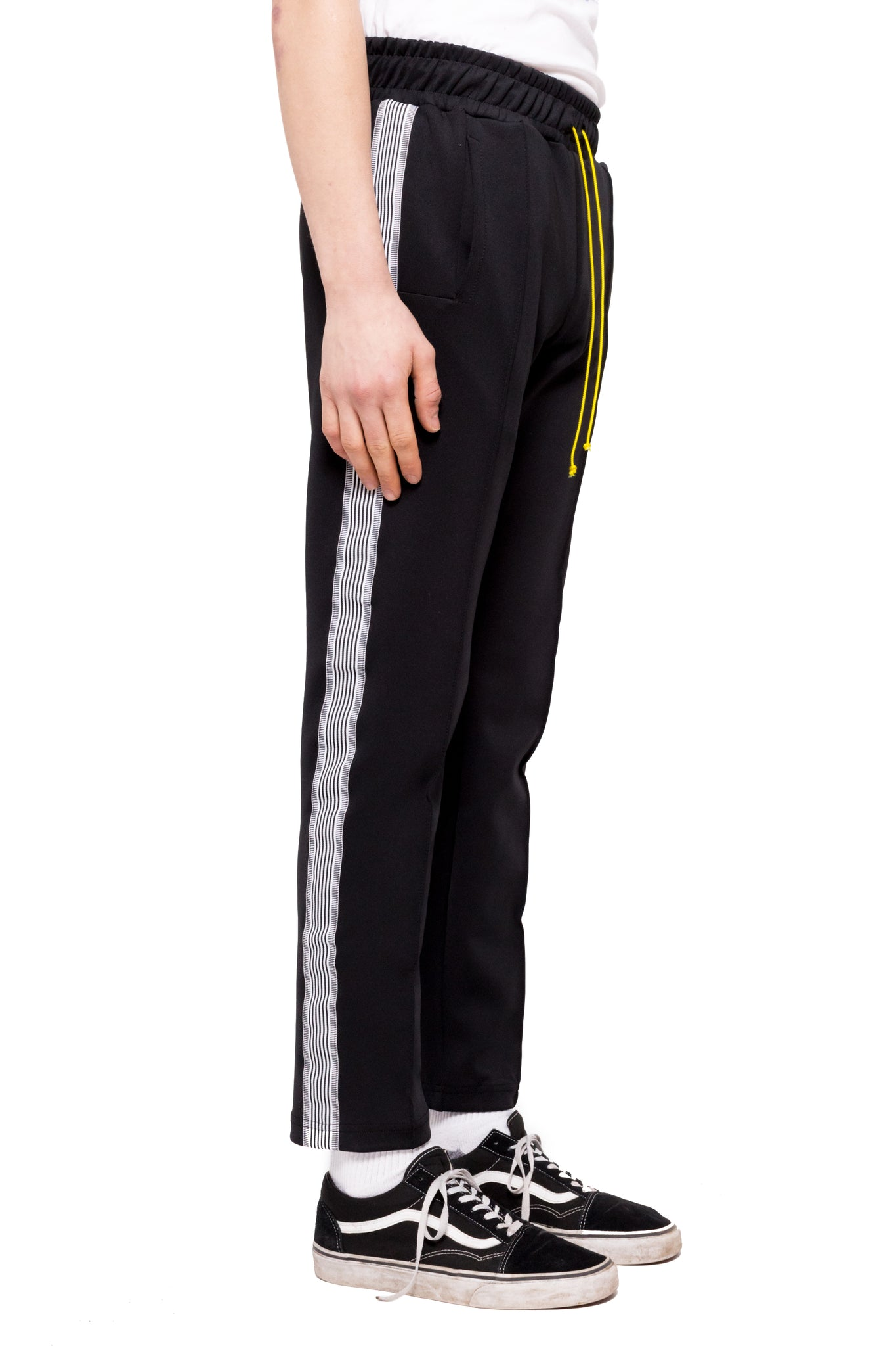 Bravo Track Pants - Black/White