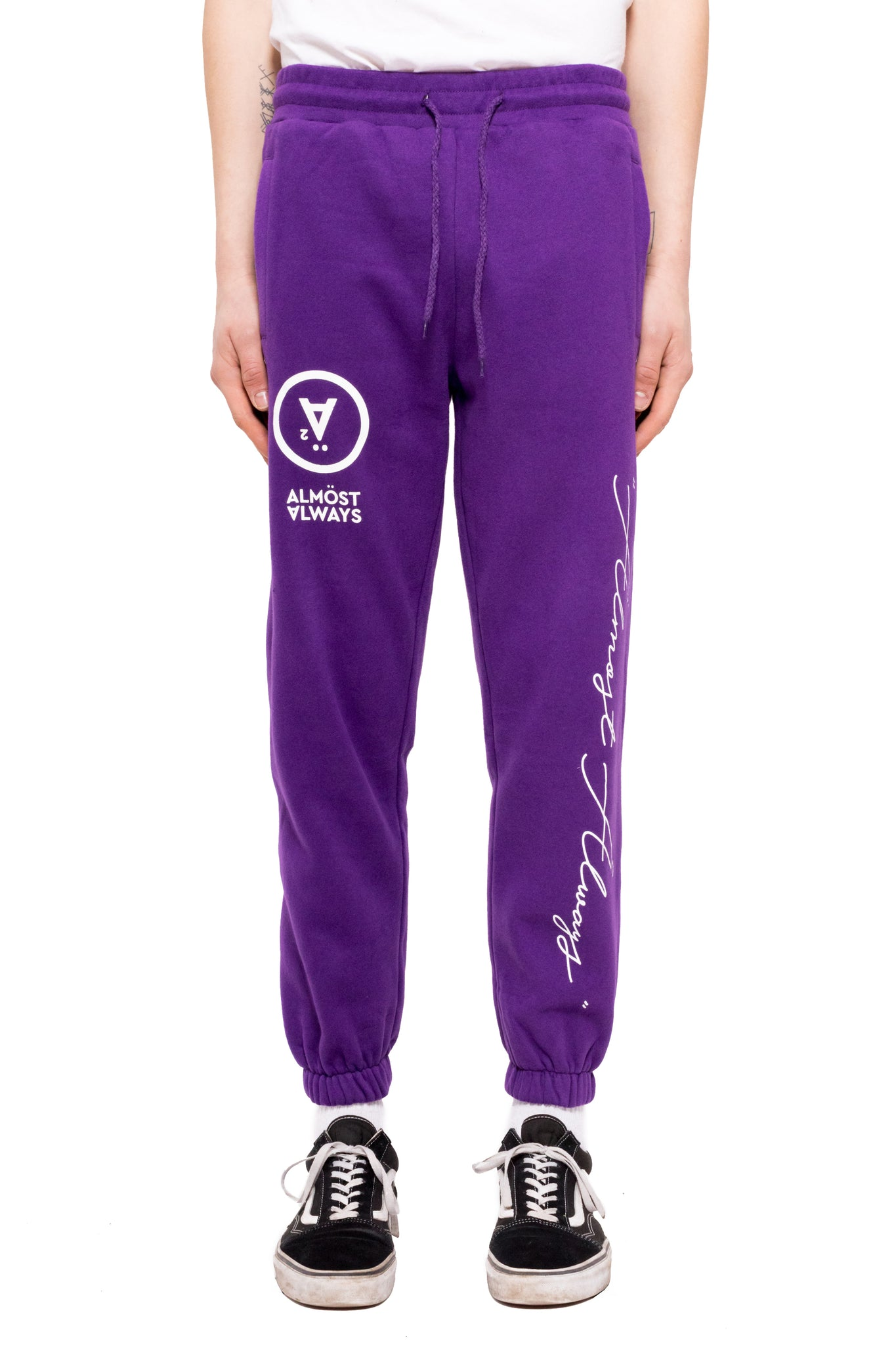 Home Office Sweatpants - Purple