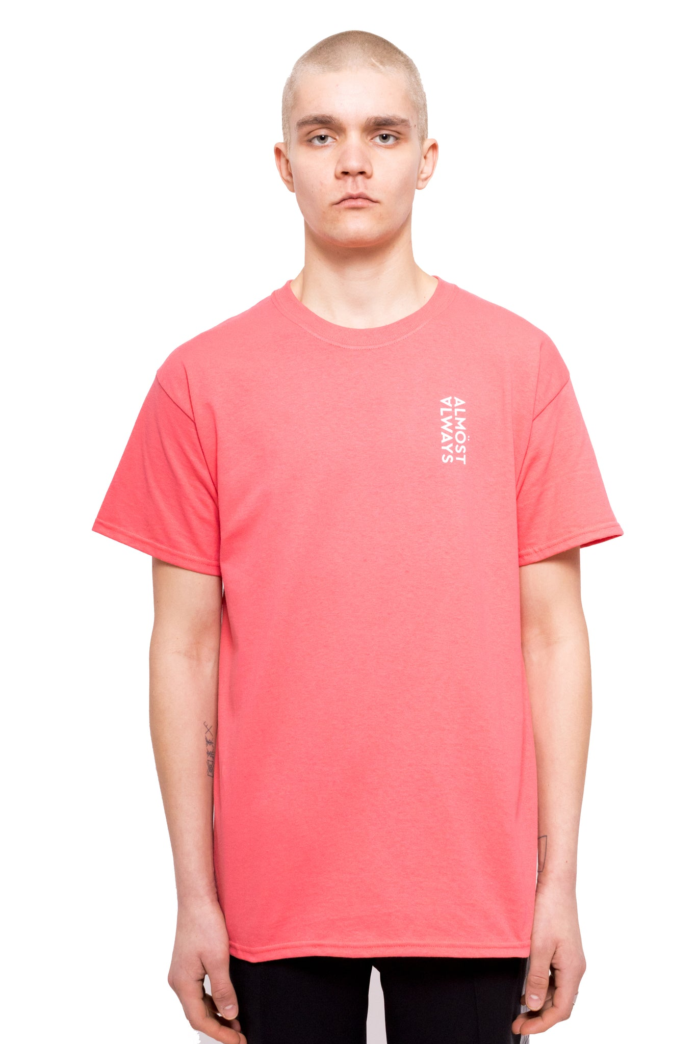 Big Bouquet Tee - Coral