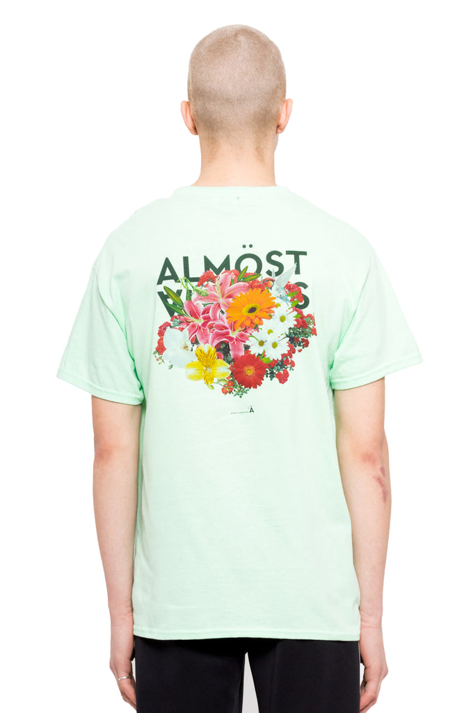 Big Bouquet Tee - Mint