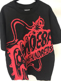 HUNDREDS - TSHIRT - BLACK - SIZE LARGE