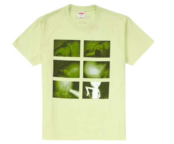 Supreme Chris Cunningham Rubber Johnny Tee Pale Mint (Size LARGE)