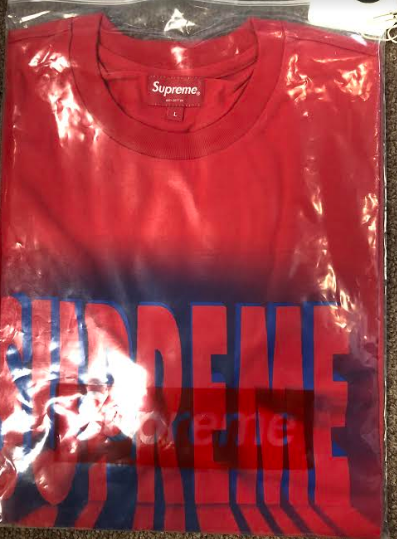 Supreme Light SS Top Red (Size LARGE)