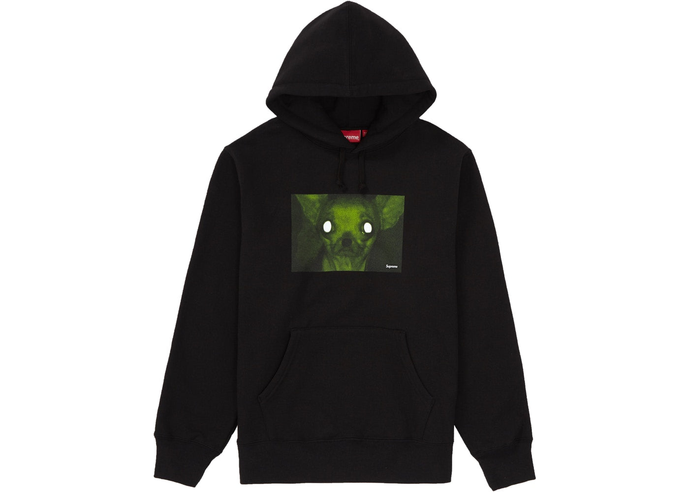 Supreme Chris Cunningham Chihuahua Hooded Sweatshirt Black XL