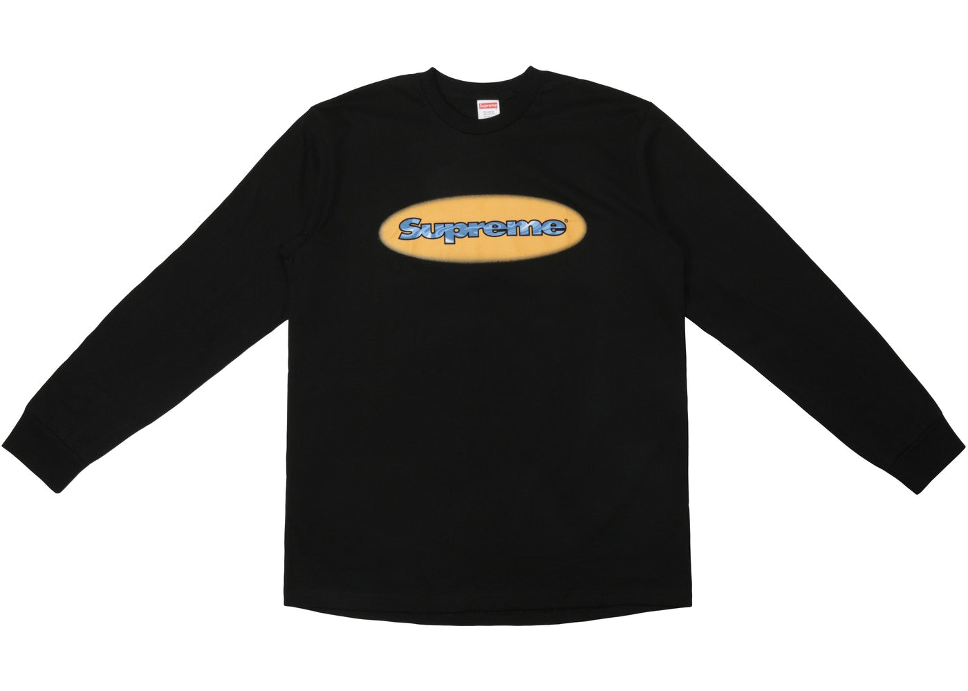 Supreme Ripple LS Tee Black