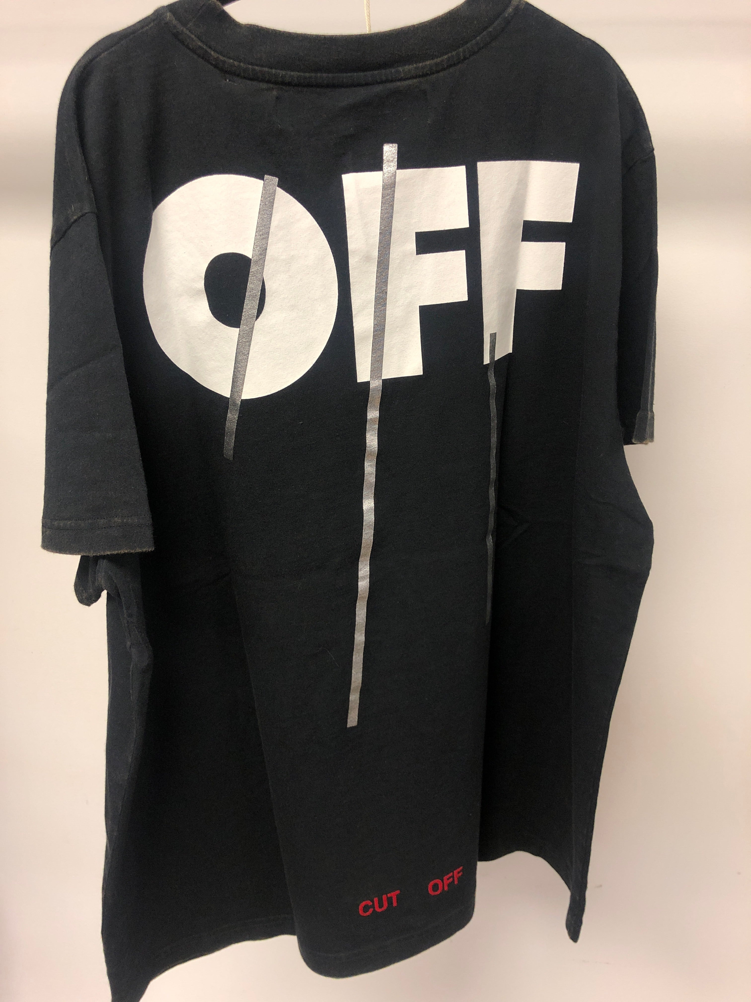 Off White - Silver Off Tee - Black & Multi