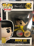 Funko Pop! Movies - Bruce Lee Number 592 - Signed by Rudy Ramirez - Bait Exclusive