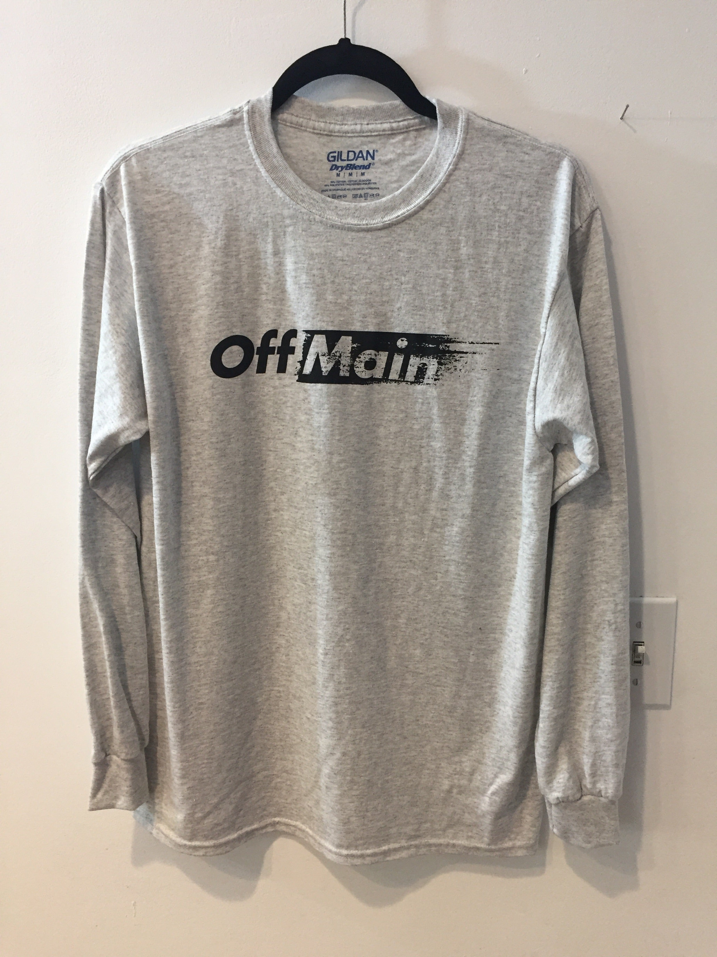 OffMain - Long Sleeve Tee - Gray