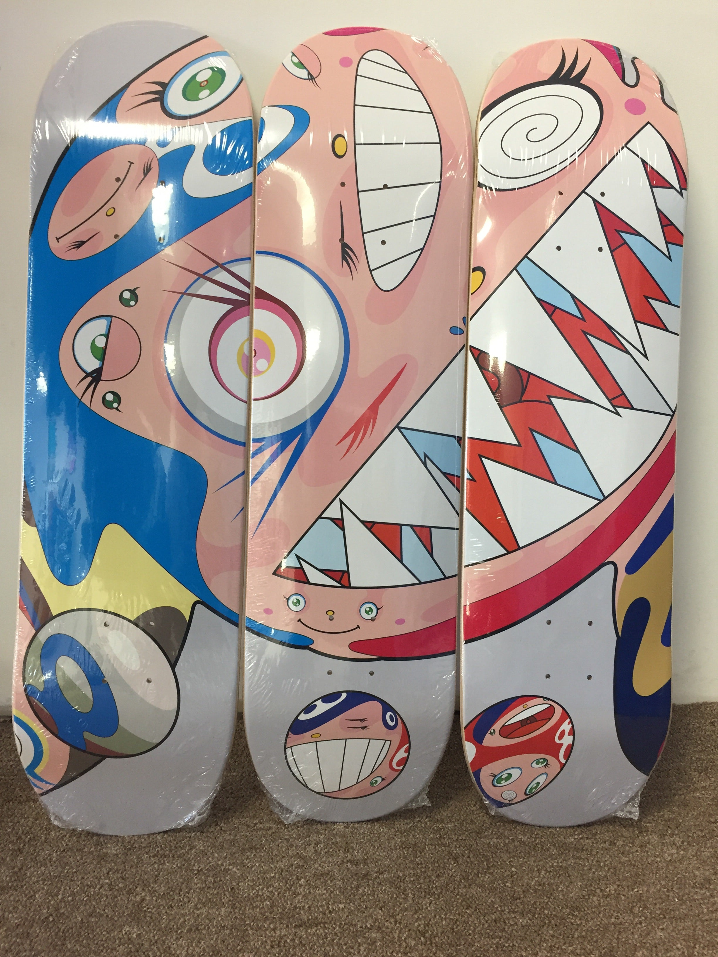 Complexcon - Takashi Murakami - Flying DOB Deck Set (3 Decks) - Gray