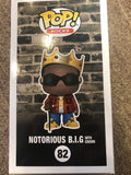 Funko Pop Notorious BIG #82 Toy Tokyo exclusive