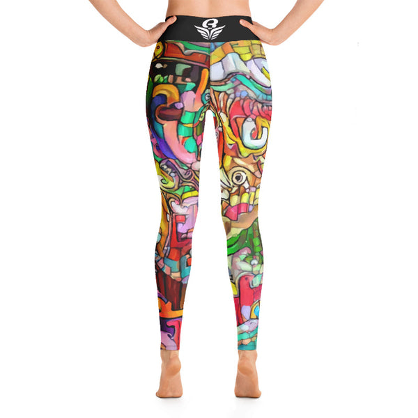Legging Yoga DAMABIAH  | Yoga Legging DAMABIAH
