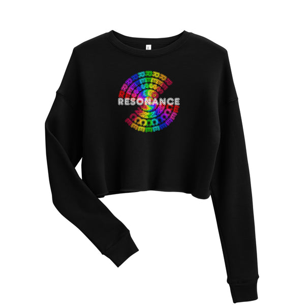 Sweatshirt court RESONANCE E544 | Crop Sweatshirt RESONANCE E544