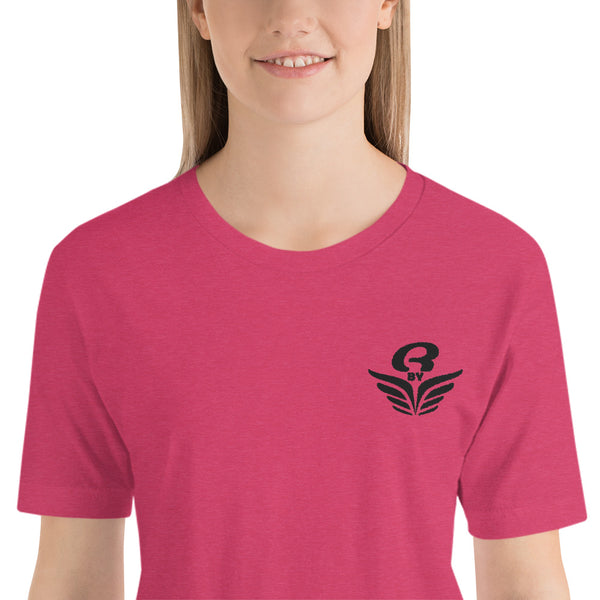 T-Shirt logo brodé femme Rbye clair | Embroidered women T-Shirt Rbye light
