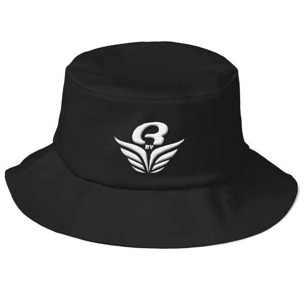 Bob RbyE Noir | Old School Bucket Hat RbyE - black