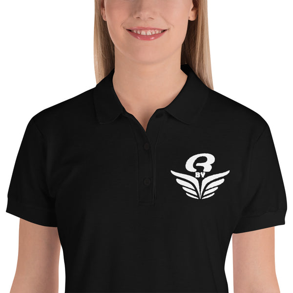Polo logo brodé femme Rbye | Embroidered women Polo Shirt Rbye