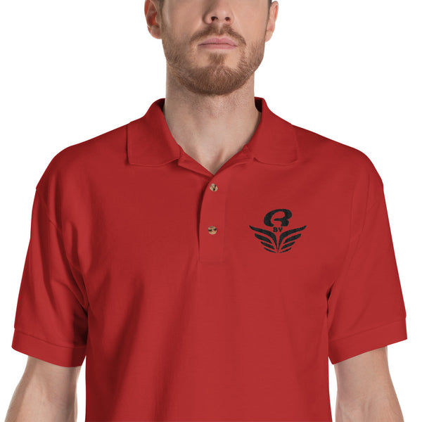 Polo logo brodé homme Rbye | Embroidered men Polo Shirt Rbye