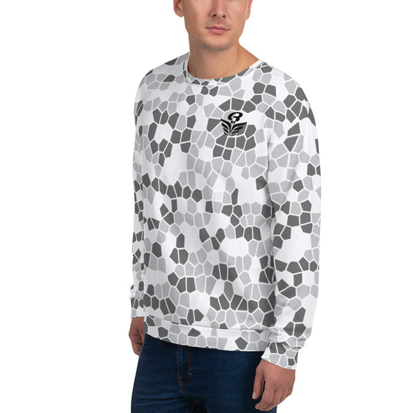 Sweat homme ABARIEL blanc | Sweatshirt Men ABARIEL white