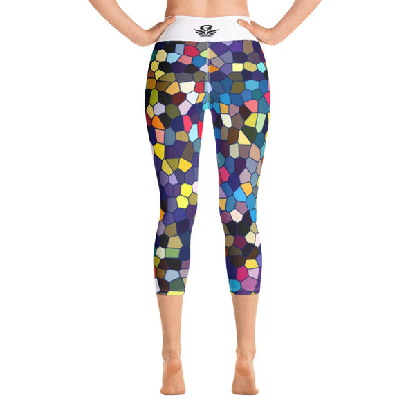 Legging Yoga Court ENNED | Yoga Capri Legging ENNED