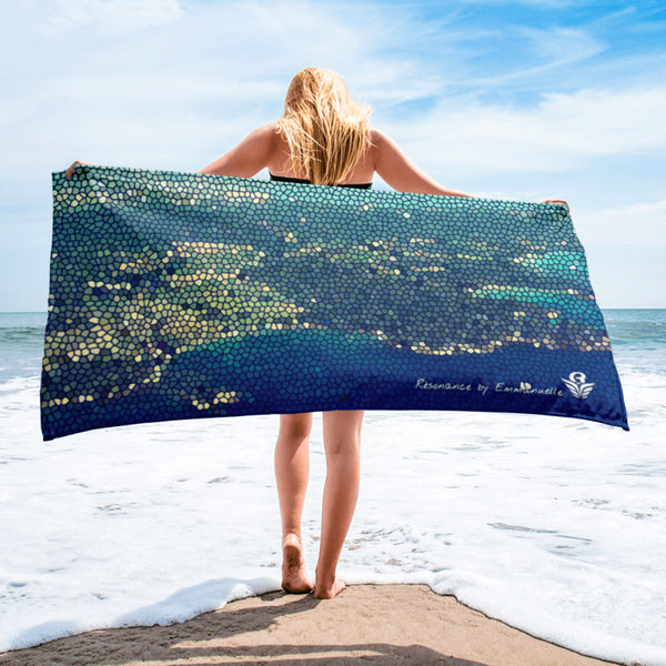 "Serviette 75x150cm TIPHERED | Towel 30""x60"" TIPHERED"