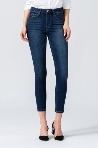 Mid Rise Ankle Skinny