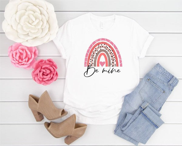Be Mine Rainbow Tee
