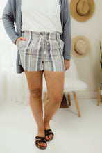 Load image into Gallery viewer, Linen Stripe Shorts