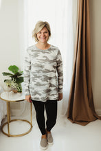 Load image into Gallery viewer, Camo Print Tunic