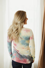 Load image into Gallery viewer, Tie Dye Henley
